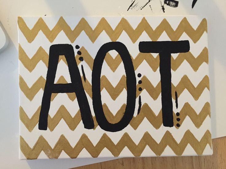 Kappa Delta canvas