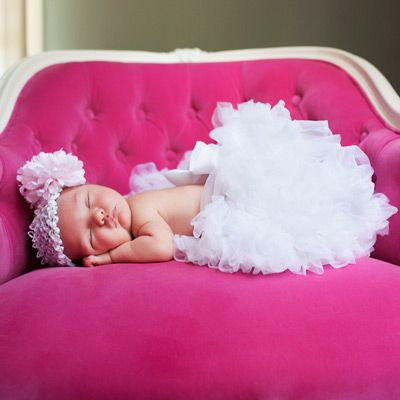newborn photo shoot...LOVE the pink!