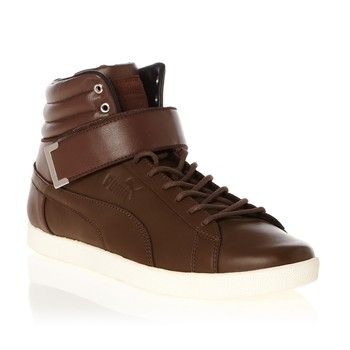 Puma - Modern Court - Halfhoge sneakers - bruin - 1584174