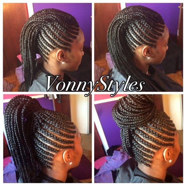 versatile braided mohawk hair
