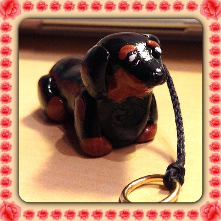Fimo dachshund