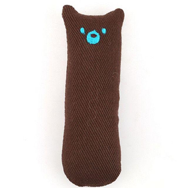 Interactive Fancy Catnip Cat Pillow Toy