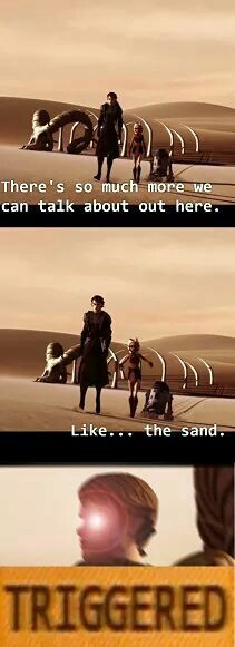 NOT THE SAND!