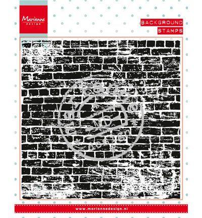 Marianne Design Transparent Stempel: Hintergund Steinen Mauer