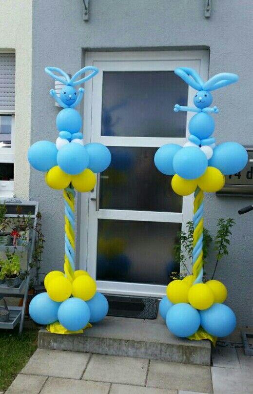 Kikaninchen Ballon deko