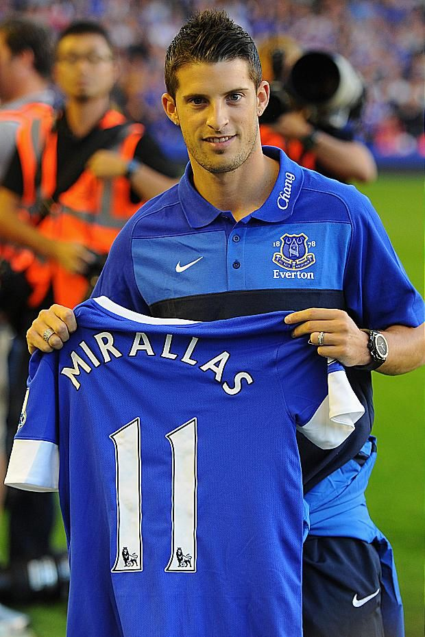 Everton New Boy.