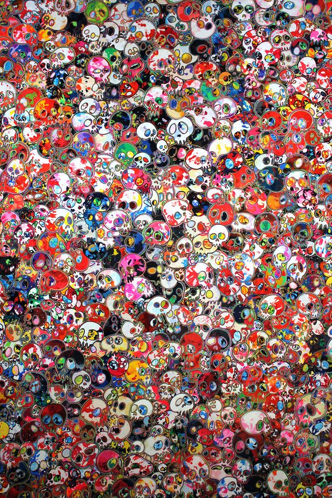 """Takashi Murakami Exhibits One of the Biggest Paintings in the World, """"The 500 Arhats""""   Hi-Fructose Magazine"""