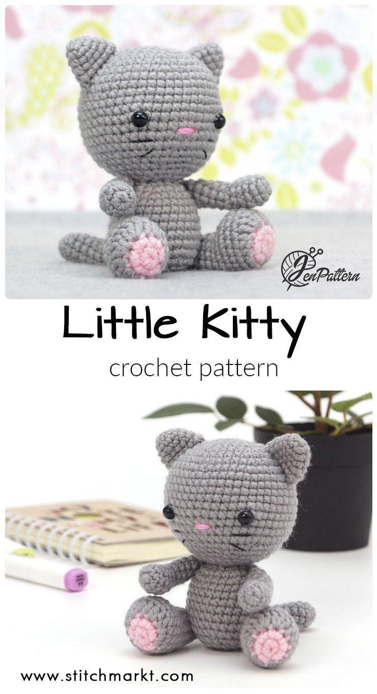 Cute Crochet Pusheen Amigurumi Free Patterns #cutecrochet in 2020 ... | 1354x735