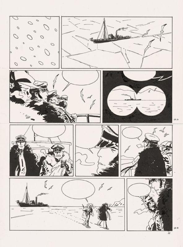 Corto Maltese - Tome XIII Bajo el sol de medianoche - w.b.