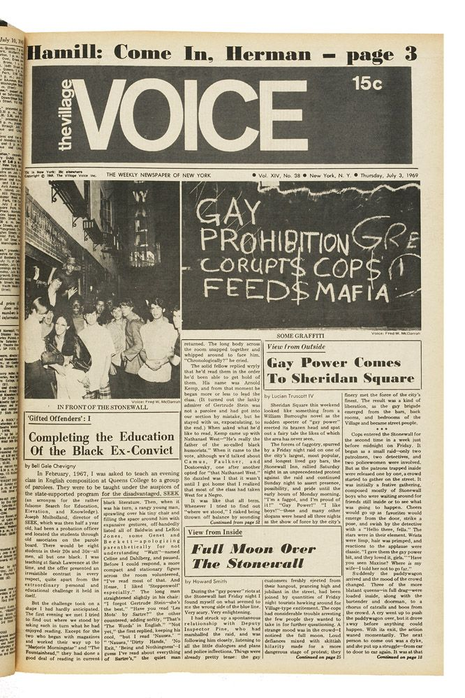 from Cayson stonewall new york gay june riot