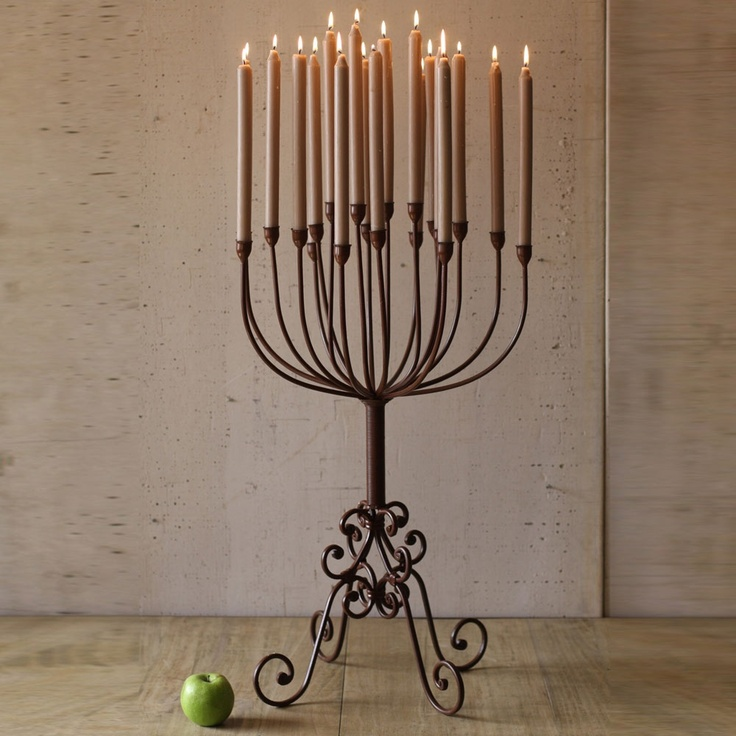 "Love this Rustic Table Top 18"" x 31"" Candelabra holds 20 taper"