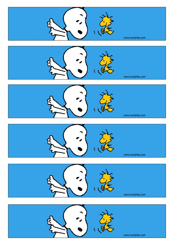 Imprimibles Snoopy - www.susaneda.com