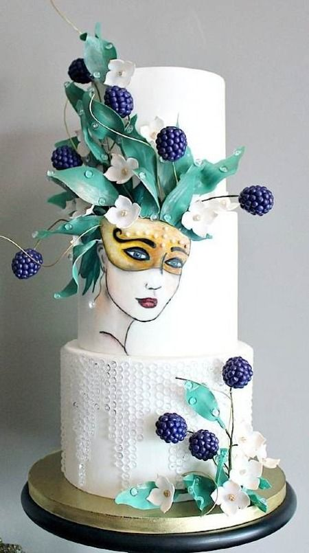 11900 best cakes images on Pinterest | Cake wedding, Wedding ...