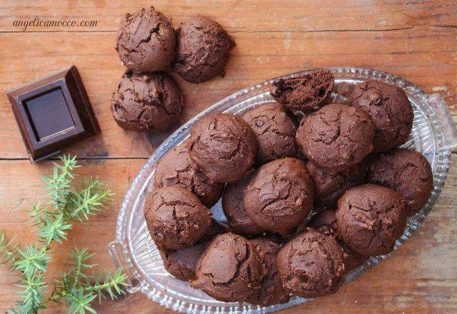 biscotti al cioccolato senza glutine, gruppo sanguigno 0 e A