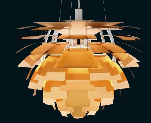 PH Artichoke di Poul Henningsen per Targetti