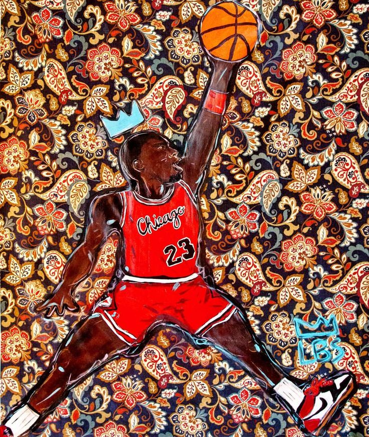 LBS (@artistlbs) on Instagram: Michael Jordan 4 ft x 4 ft Acrylic on Fabric | Custom Tapestry #painting #michaeljordan