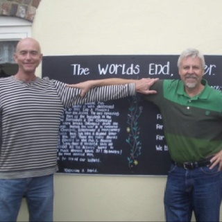 Paul & Barry at The Worlds End