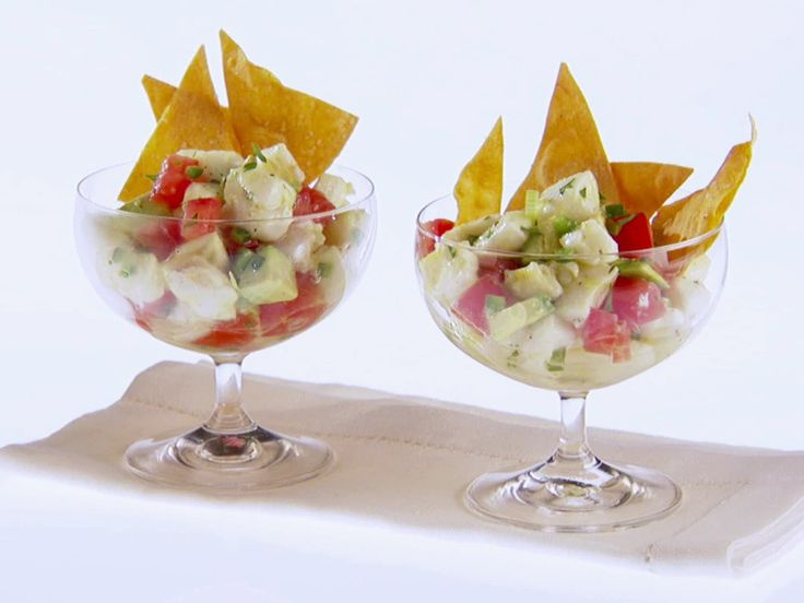 Yummy Ceviche recipe.  I use cooked  shrimp (chopped) instead of halibut so i just marinate the shrimp in the juices.  Very healthy snack!