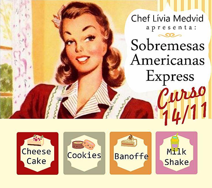 Curso : Sobremesas Americanas Express!