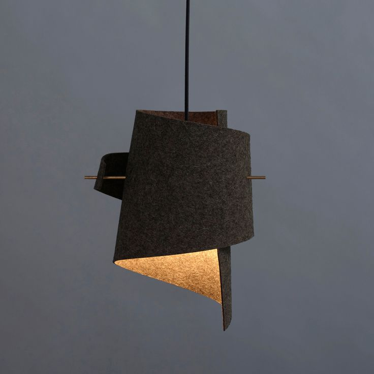 Handmade ML01 lamp wool felt by MOIJN // noorverk.com