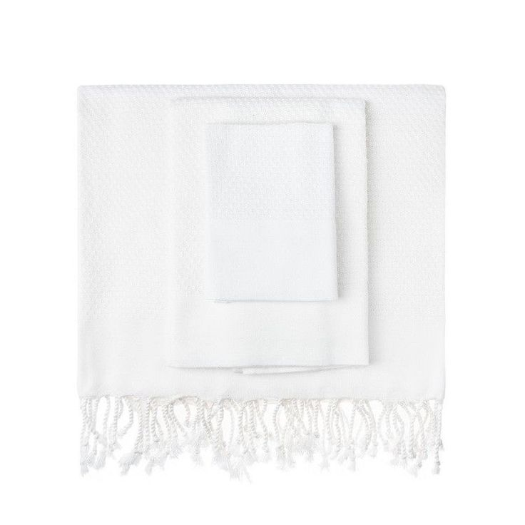 White Honeycomb Turkish Peshtemal Towel