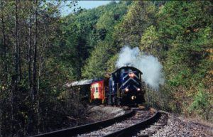 Secret City Excursion Train  Oak Ridge