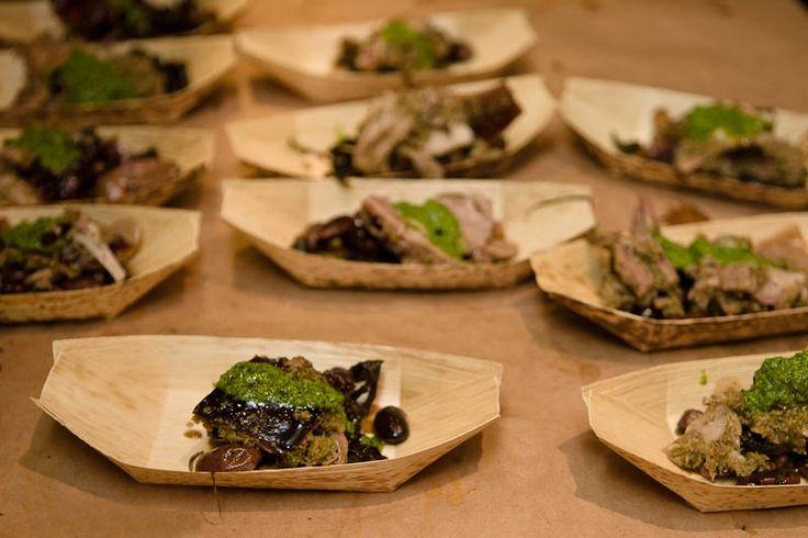 Hudson Ranch at Silverlake Wine | HeirloomLA - Pork With Fennel Pesto & Fresh Shelling Beans