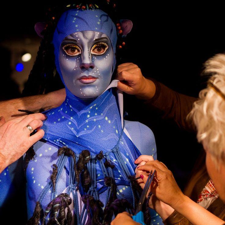 Pretty cool! >> Costume designer Kym Barrett's costume design for Cirque du Soleil's Toruk - The First Flight.