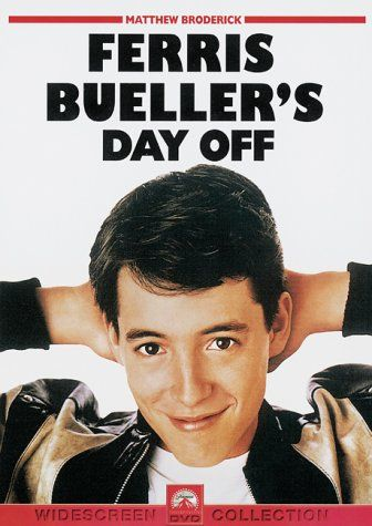 Ferris Bueller's Day Off ... classsiicccc fucking Movie. I went on one of my first dates to see this and fell in love with Jennifer Grey, yes my first girl crush.