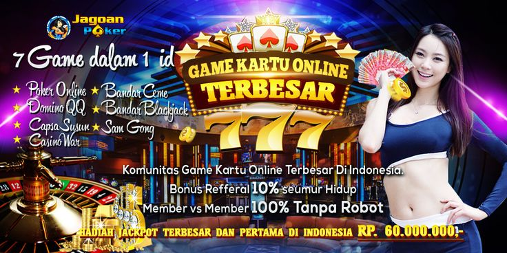 Jagoanpoker88 first credible minimum deposit is 10,000, with the largest Poker Online funds in Indonesia, you can play judi poker online, Poker Online, agen domino qq, etc. Online Poker Customer Service | Poker Sites Indonesia - jagoanpoker88 already 24 hours, friendly and polite, serving thousands of professional members trained in Poker Online | Agents Poker | By jagoanpoker88 Indonesia Poker online poker as gambling promoter is also the best use of technology,