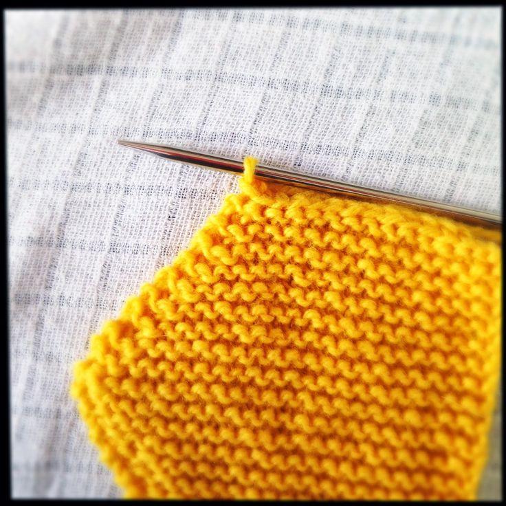 arrêter la dernière maille du tricot : 1