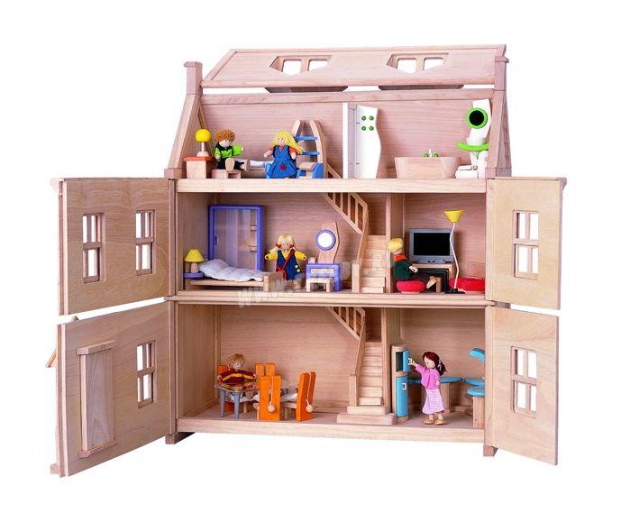 7124 - Викторианский кукольный домик - купить по лучшей цене в Москве, Интернет-магазин Treeby