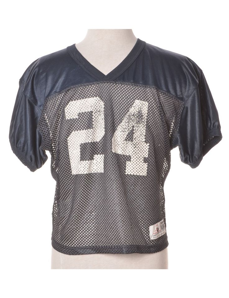 Vintage Sports T-shirt Navy | Beyond Retro