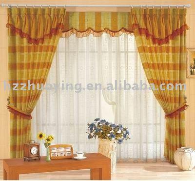Rideau en fen tre de pli de draperie de voile de broderie rideaux id du produit 347861734 french for Voile et rideaux