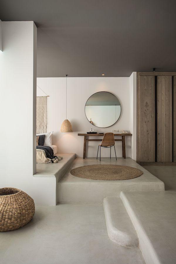 Best Concrete Bedroom Ideas On Pinterest Concrete Interiors