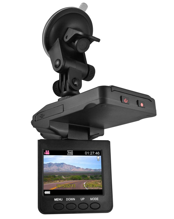 XO Vision HD Dash Cam with Night Vision