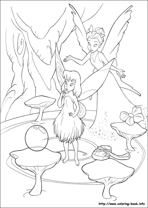 103 best Disneyu0027s Fairies Coloring Fairies images on Pinterest - best of big tinkerbell coloring pages