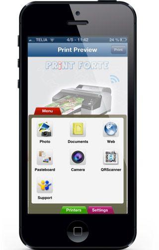 Udskriv fra ipad til trådløse printere - behøver efter sigende kun ip adresse på printer