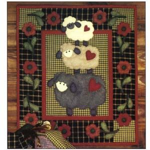 Sheep Quilt - inspiration for my next.