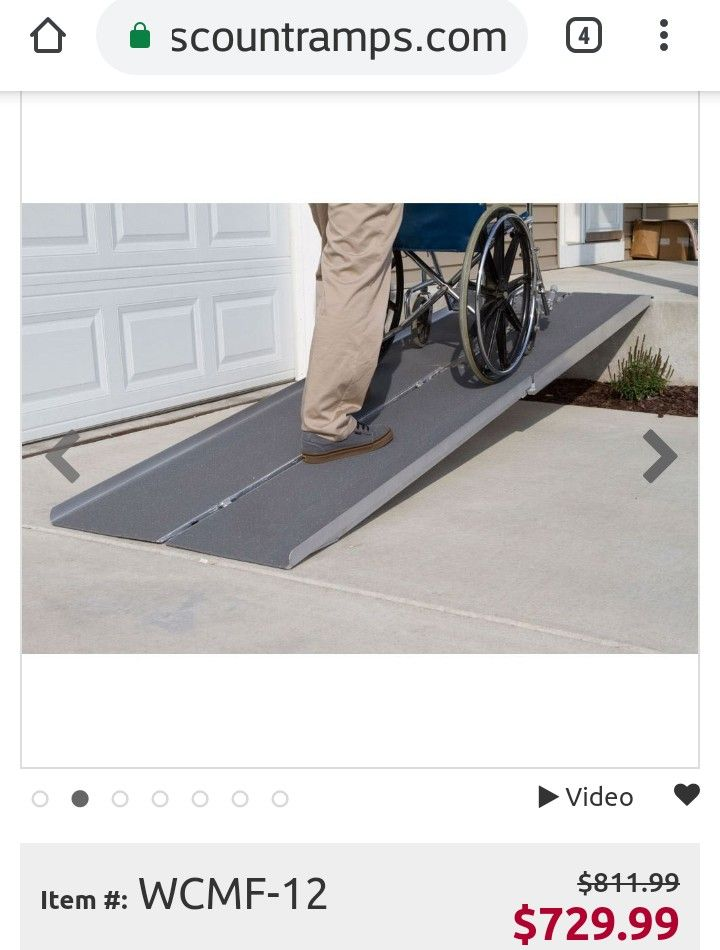 Pin By Boogie Bear On Wheelchair Ramps In 2020 Wheelchair Ramp Portable Wheelchair Ramp Wheelchair