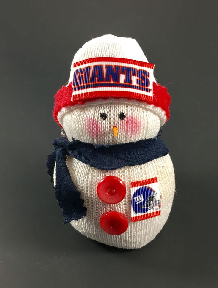 New York Giants,New York Giants snowman,New York Giants gift,Gift for New York Giants fan,New York Giants collectible,Giants accessory by Andreaswishcraft on Etsy