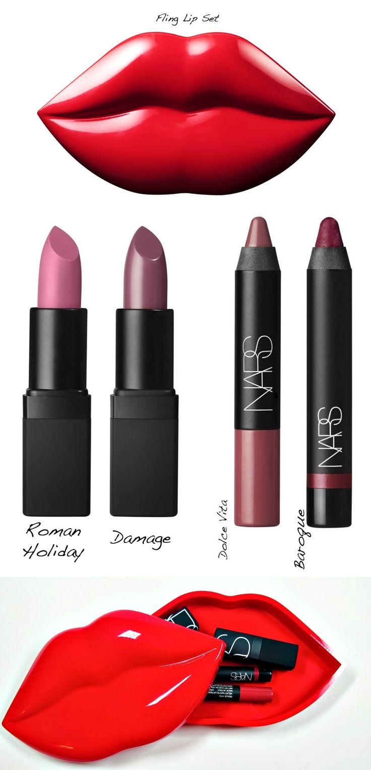 Maquiagem importada As melhores edições NARS Guy Bourdin - Fling Lip Kit