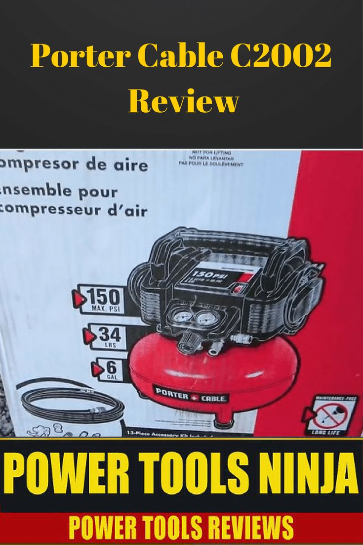 Looking for an air compressor for more serious work but still be lightweight and portable?Our Porter Cable C2002 review might end your search! via @powertoolsninja
