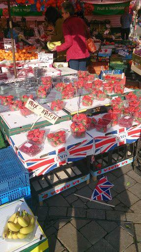 English strawberries, feeling summer and Wimbledon coming soon