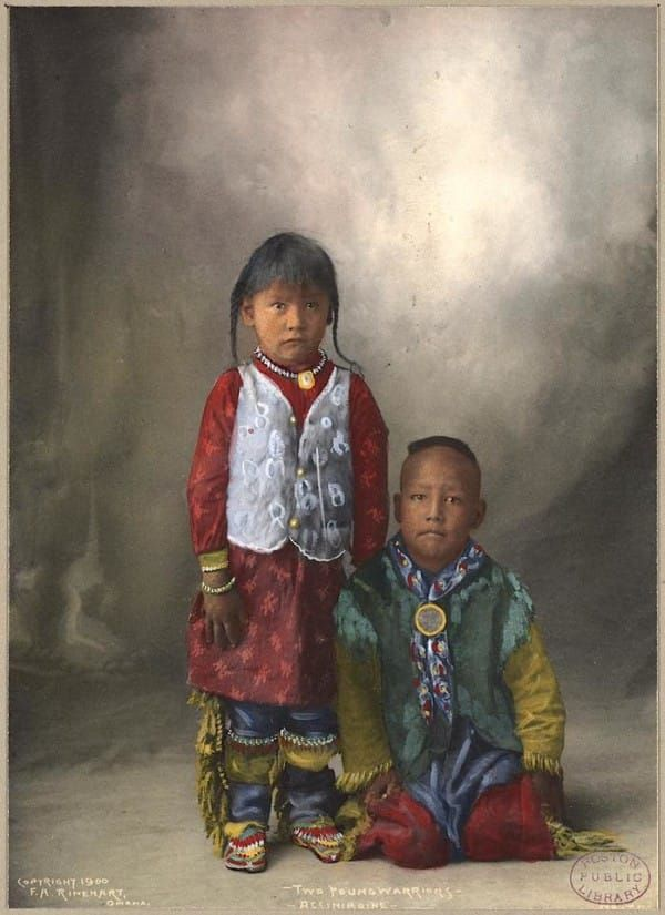 Recolored Photos Of Native Americans From The 1800s