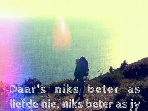 Niks beter as liefde nie