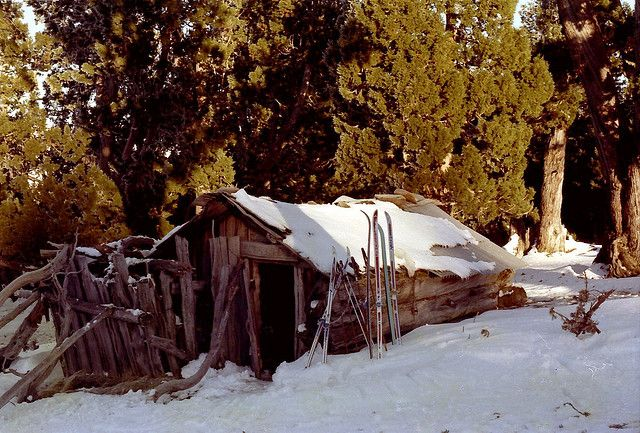 Dixon's Kingdom Hut, Walls of Jerusalem Tasmania 1977