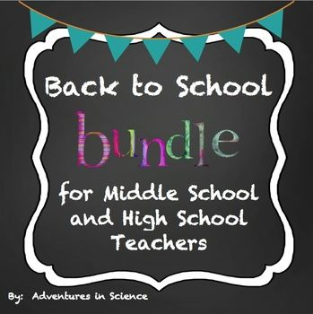 Are you a new middle school or high school teacher? Are you completely overwhelmed trying to get ready for those first few days of school? Make your life a little bit easier and check out this bundle! Your purchase includes: Middle School or High School Syllabus {Fully Editable!} Classroom Procedures and Expectations for Middle School & High School - Fully Editable $