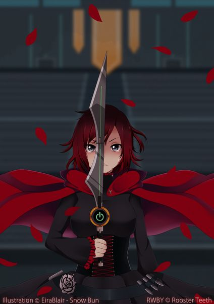 RWBY: Red Warrior