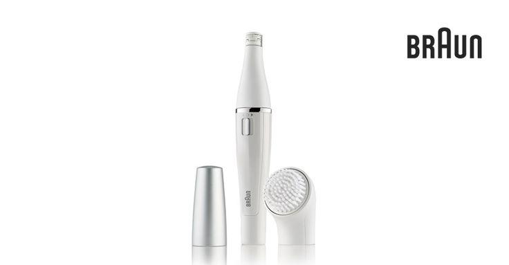 Épilateur & brosse nettoyante visage Braun Face 810 | Braun